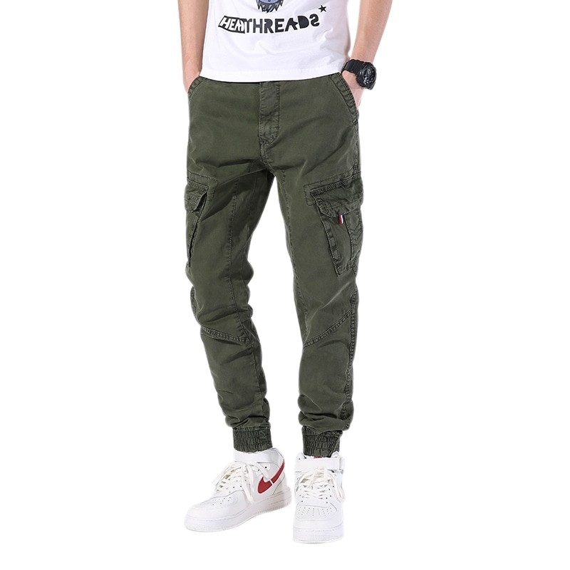 LD-1901 Men fashionable cargo pants three colors offered size 30-38