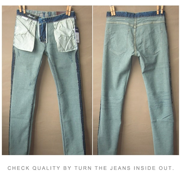 How to identify good quality jeans