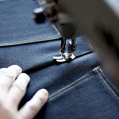 How to reduce risk when make custom jeans