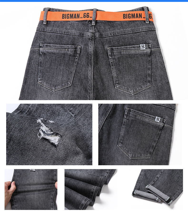 trendy style men slim jeans