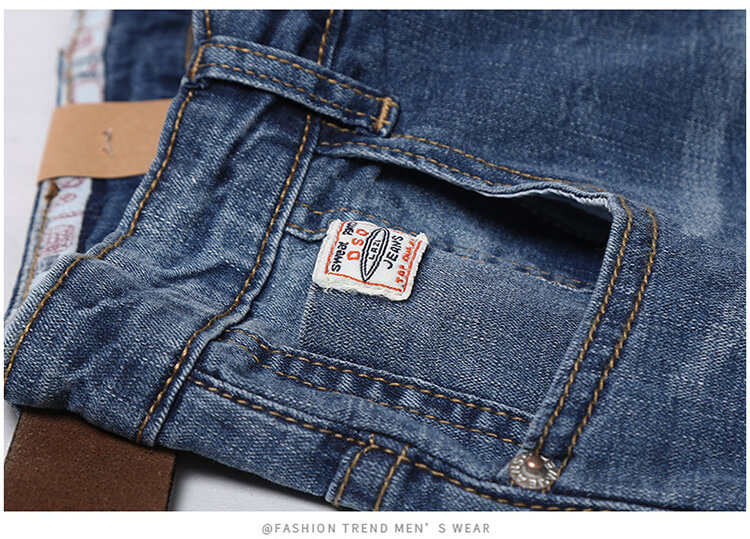 TR fabric men jeans