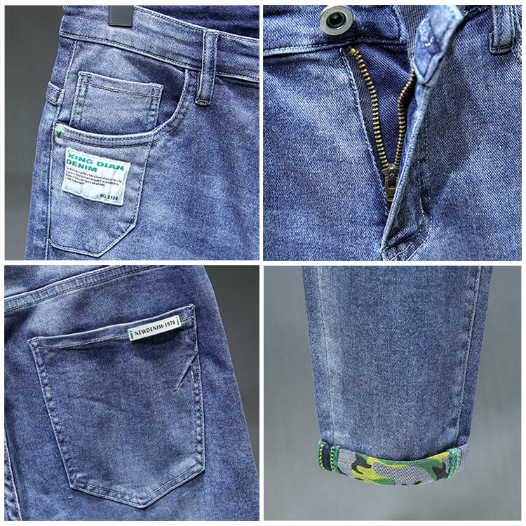good quality slim fit tapered jeans