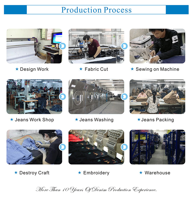 chinese jeans factory