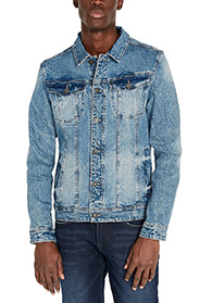 custom men jeans jacket