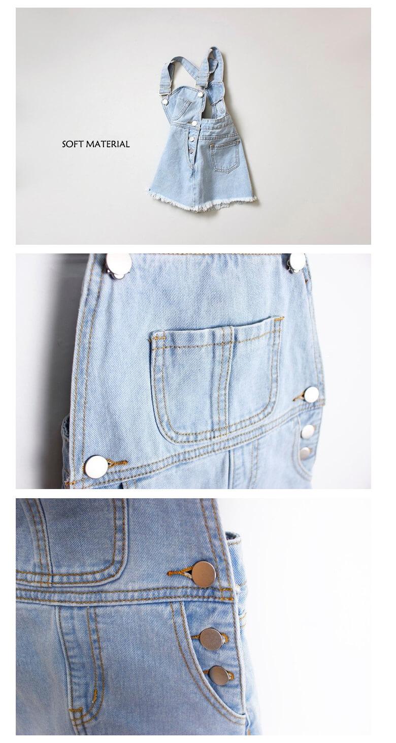 summer wear denim skirt for girl