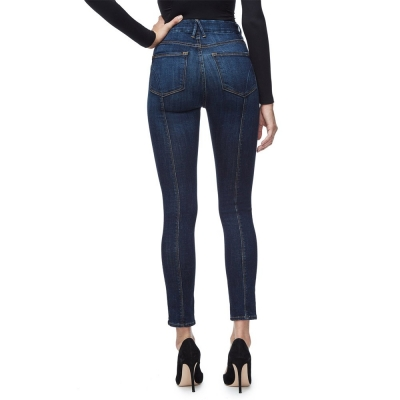 Good looking lady's skinny fit jeans