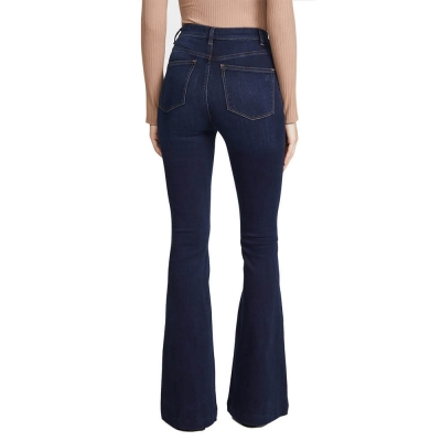 BV-206 Custom New Fashion Design Women Flared Jeans Pants