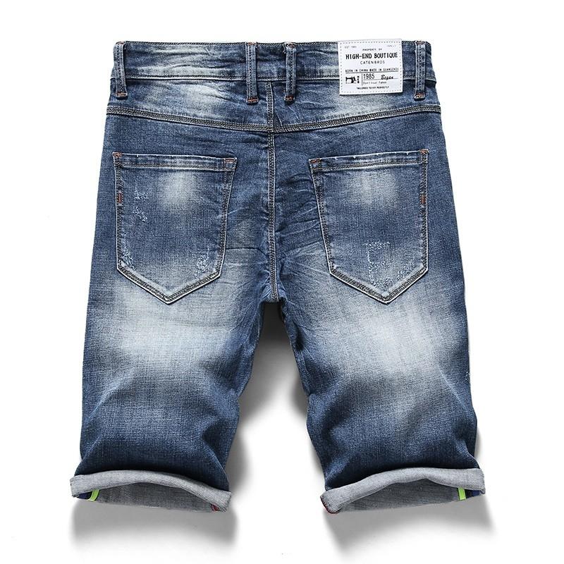 PG-332 Man's medium blue denim short size 29-38