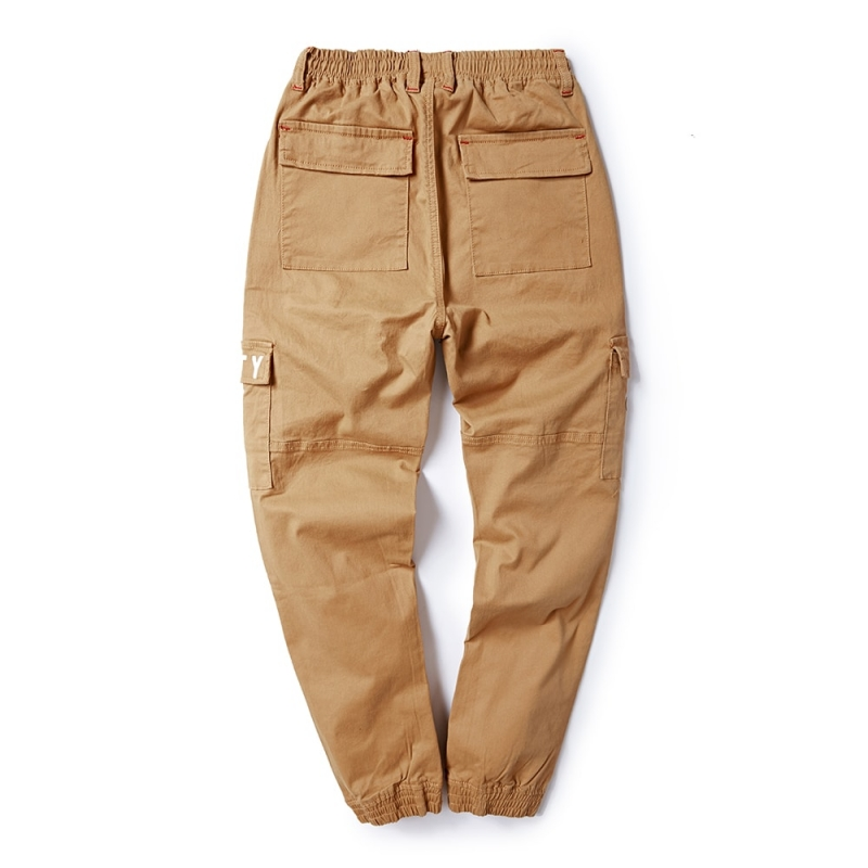 DJ-099 Men fashion cargo pants plus size offered M-8XL