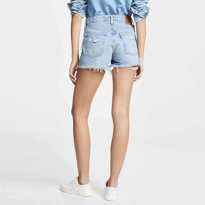 TC-891 Crazy Broken Style Ripped Jeans Women Destroyed Denim Shorts