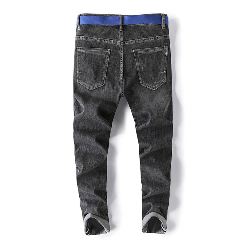 WD-5263 New Arrival Fashion Tapered Slim Fit Men Ripped Jeans For Spring 28-38
