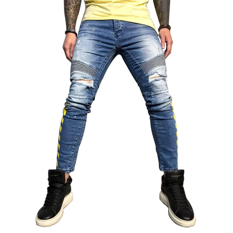 DS-018 Good Quality Stylish Men Jeans Trouser For Custom Order