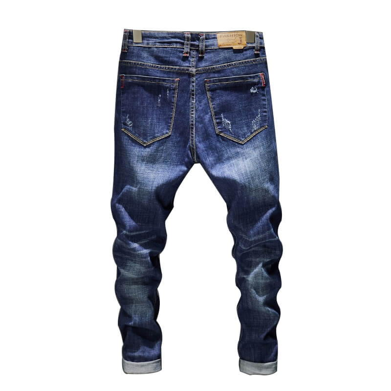 CN-821 New Arrival Cheap Price Men Stretch Jeans Pants 28-38