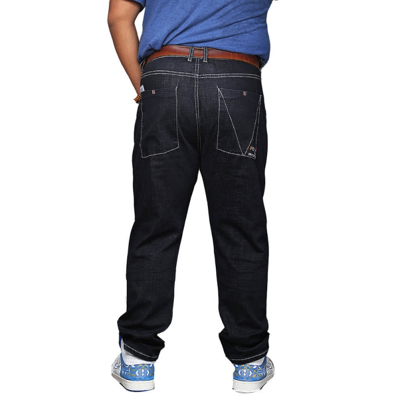 XD-1602 Regular Fit Man Basic Design Plus Size Jeans Pants 36-52