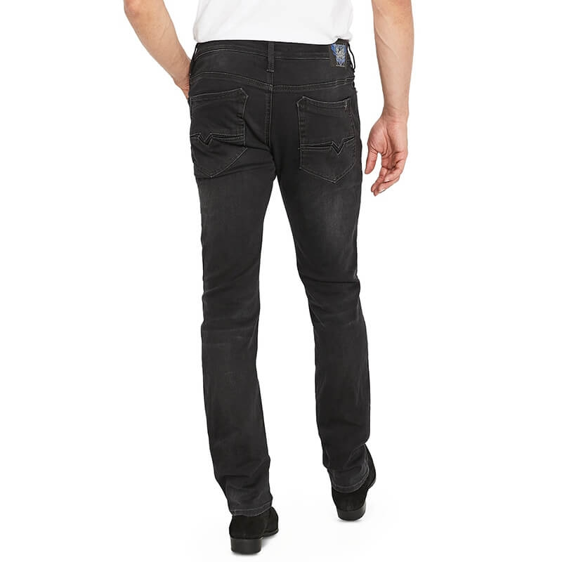 FC-020 Cheap Price Custom High Quality Men Stretchy Black Jeans Trousers